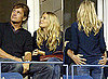 Photos Of Sienna Miller and George Baker At The US Open Watching Venus Williams