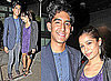 Dev Patel and Freida Pinto Out on a Date