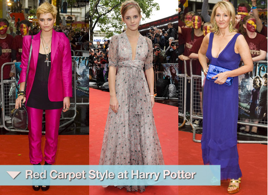 Red Carpet Style at Harry Potter Premiere