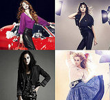 Mango Ad Campaign Autumn 2009 Daisy Lowe, Leigh Lezark, Riley Keough, and Marie Ange Casta