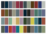 Colour Palette for Spring 2010 Pantone Shades