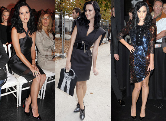 Photos of Katy Perry at Paris Fashion Week Spring 2010 2009-10-05 01:48:41