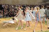 Photos of Chanel Spring 2010 at Paris Fashion Week Starring Lily Allen