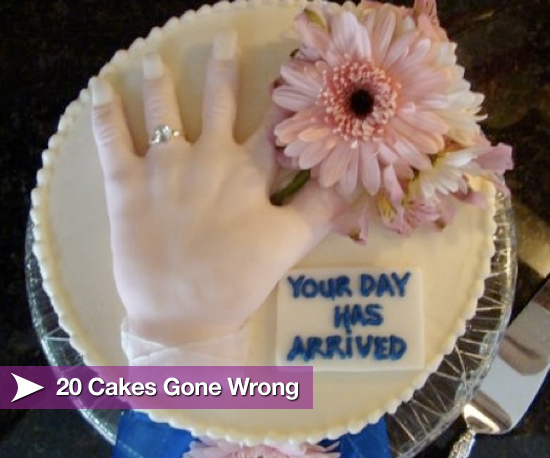 Made With Love? 20 Cakes Gone Wrong