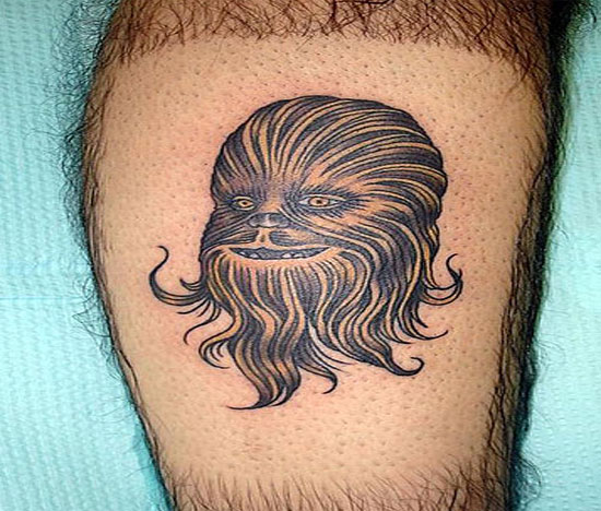Chewbacca Art