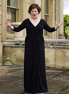 Grab Bag! Susan Boyle Goes Glam