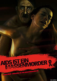 German Ad: AIDS Is the New Hitler