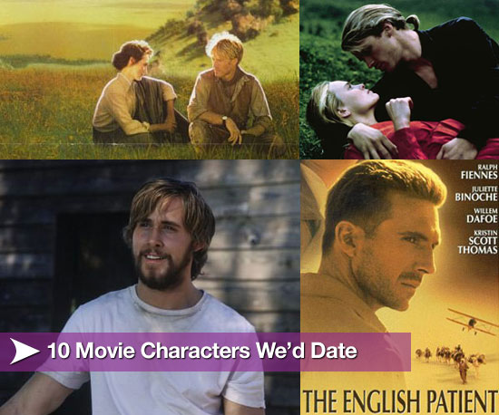 10 Movie Characters We'd Like to Date