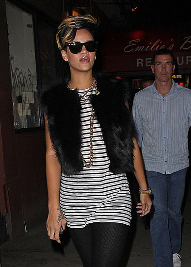 Rihanna out and about