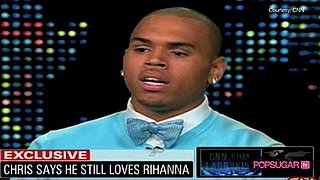 Chris Brown on Larry King