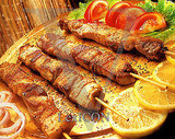 Lamb on Skewers / Arni Souvlakia