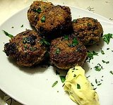 Parsley Meatballs/Keftethes