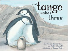 End Tango Makes Three.. most banned book