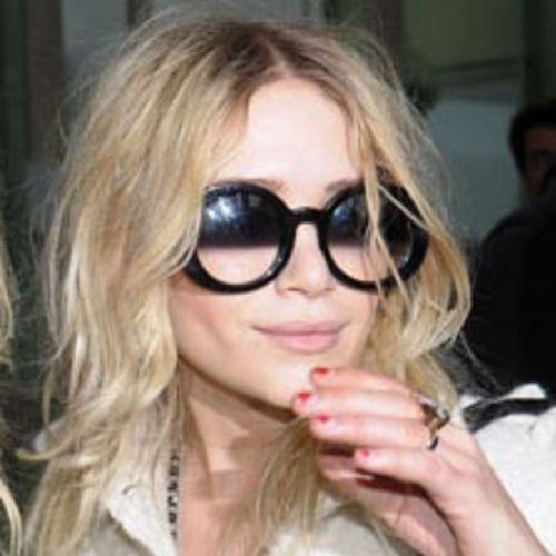Chanel's Half Tinted Sunglasses