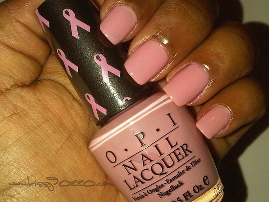 "O.P.I ""Pink of Heart 2009"" for Breast Cancer Awareness"