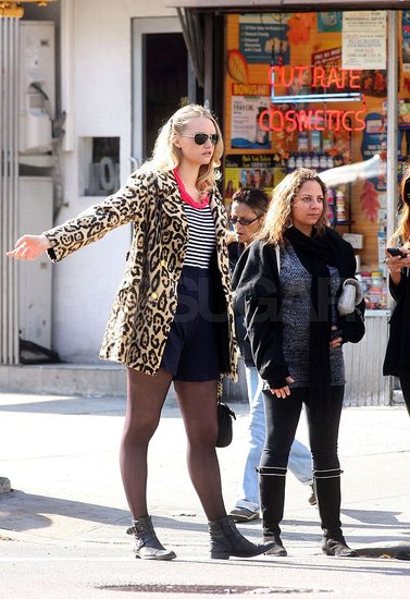 Gemma Ward Pops Up in New York for Birthday