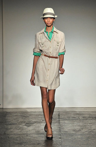 Runway Report: Banana Republic Spring 2010
