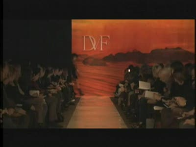 New York Fashion Week: Diane Von Furstenberg Fall 2009 Video