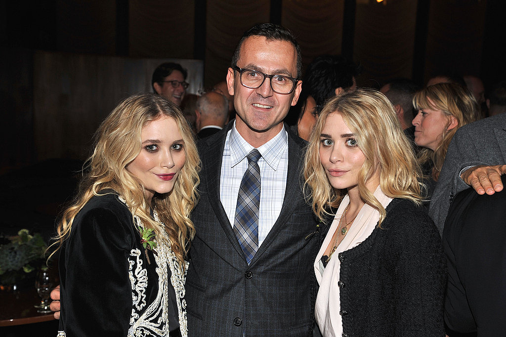 Mary-Kate and Ashley Olsen with Stephen Kolb