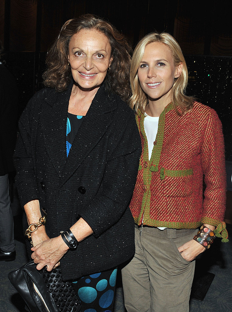 Diane Von Furstenberg and Tory Burch