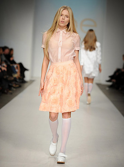 Theodora Richards in Joe Fresh's Spring 2010 collection on 10/21/09