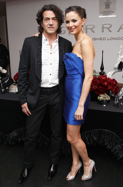 Stephen Webster and Georgina Chapman