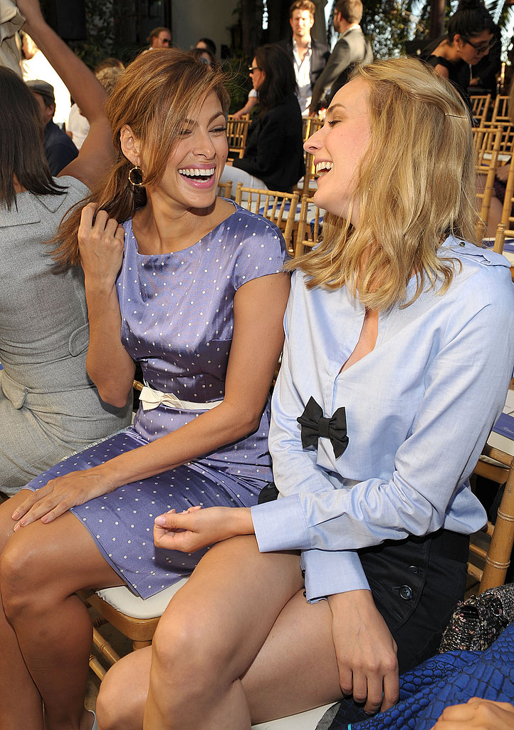 Eva Mendes and Diane Kruger