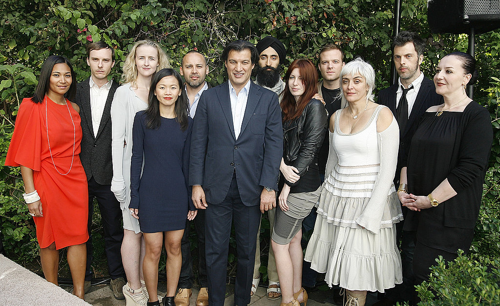 Frederic Fekkai and the 2009 CFDA/Vogue Fashion Fund finalists