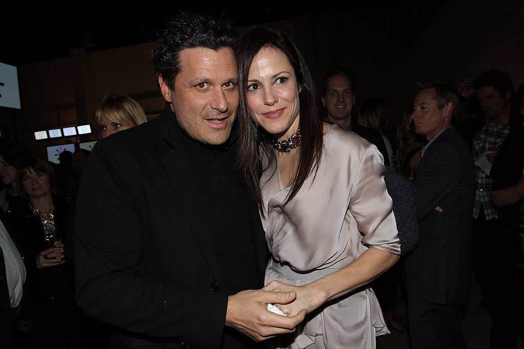 Isaac Mizrahi and Mary-Louise Parker