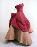 "Pink layered ""Four Leaf Clover"" Charles James Gown 1953"