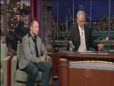 Tesla's Elon Musk on Letterman