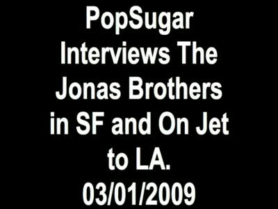 Jonas Brothers Interview