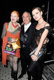 Vivienne Westwood, Sir Philip Green, Kate Moss