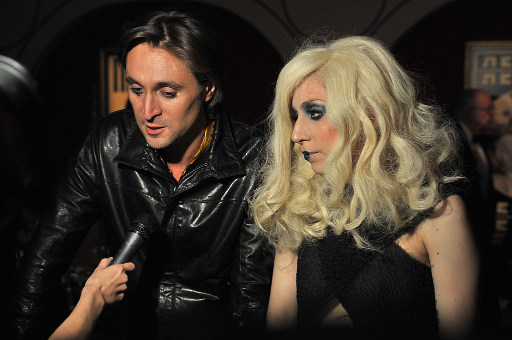 Francesco Vezzoli and Lady Gaga