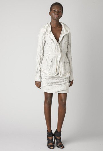 Rachel Roy Mixes Military Influences with Moroccan Embroideries in Pre-Fall 2010