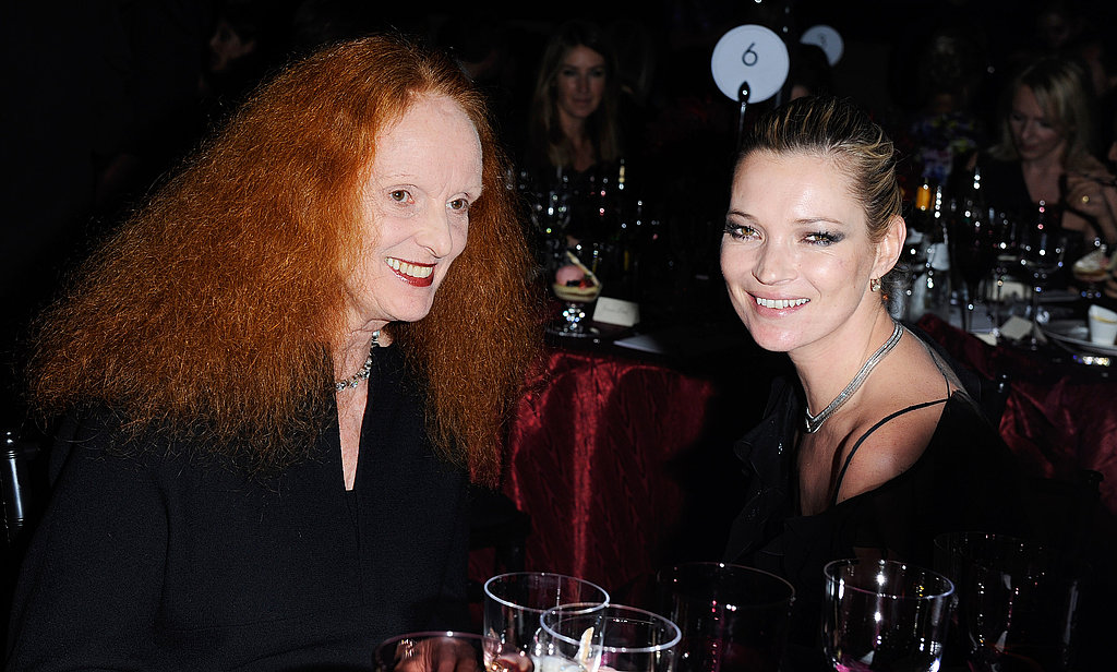 Grace Coddington, Kate Moss