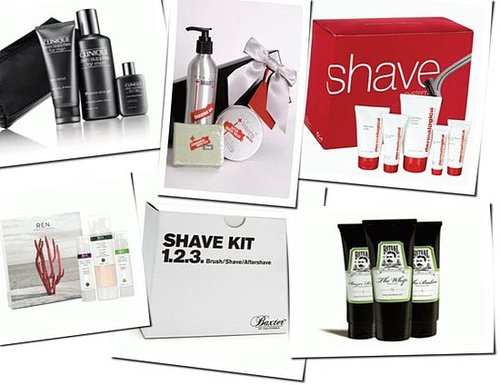 Christmas gift guide: shave sets for him