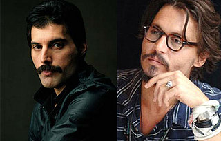 Johnny Depp May Play Freddie Mercury