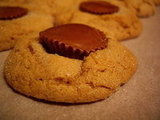 Peanut Butter Cookie with Reese Peanut Butter cups