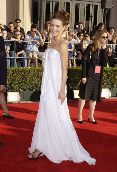 Kate Beckinsale Ethereal in White