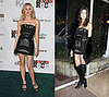 Who Wore It Better? Balmain Black Strapless Embellished Dress