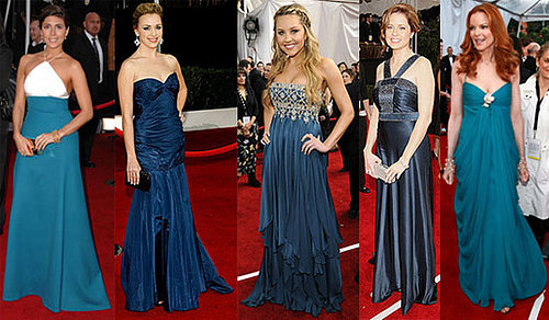 SAG Awards Trend Alert: The Blues