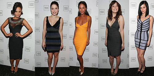 Whose Herve Leger Is Most Fab?