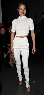 Ali Larter's All-White Calvin Klein Outfit: Love It or Hate It?