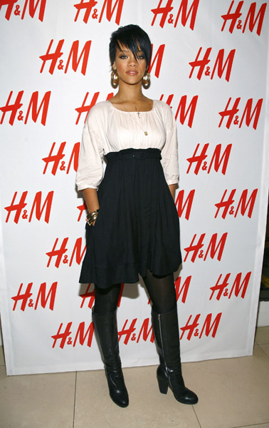 At H&M's Fashion Against AIDS Launch