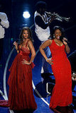 Beyonce Knowles and Jennifer Hudson