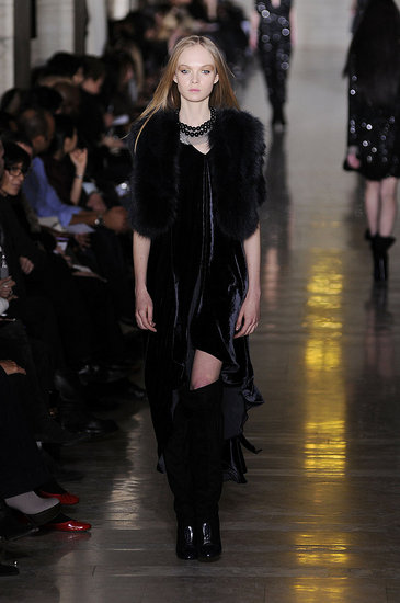 Goth Luxury at Jill Stuart