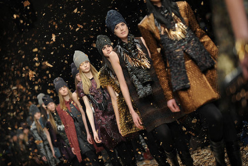 Milan Fashion Week, Fall 2008: Burberry Prorsum