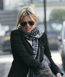 Celebrity Style: Kate Moss Returns from Holiday