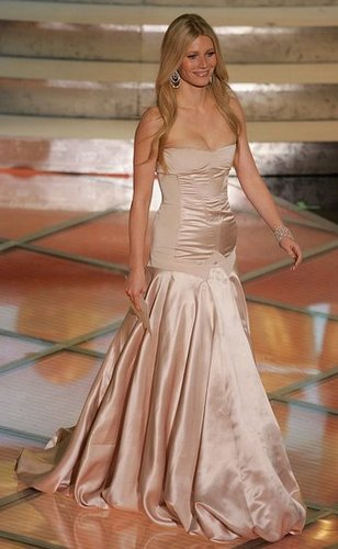 Guess Who Designed Gwyneth's Nude Confection at the 77th Academy Awards?